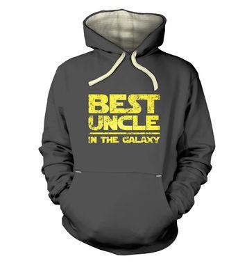 Best Uncle In The Galaxy premium hoodie
