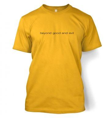 beyond good and evil  t-shirt