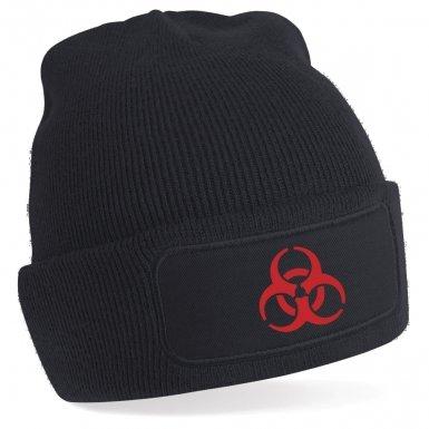 Biohazard beanie hat