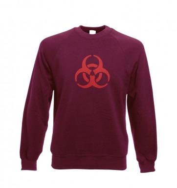 Biohazard Symbol sweatshirt