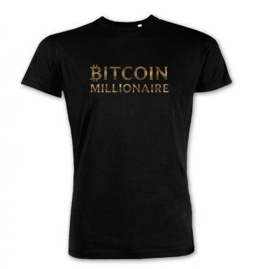 Bitcoin Millionaire premium t-shirt