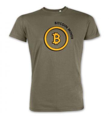 Bitcoin Miner premium t-shirt