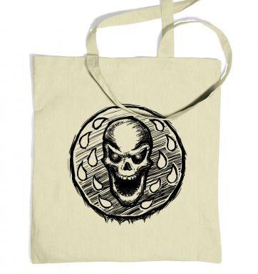 Skull Coin tote bag