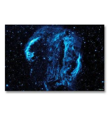 Blue Nebula gaming mat
