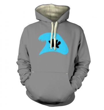 Blue Squirtle Silhouette hoodie (premium)