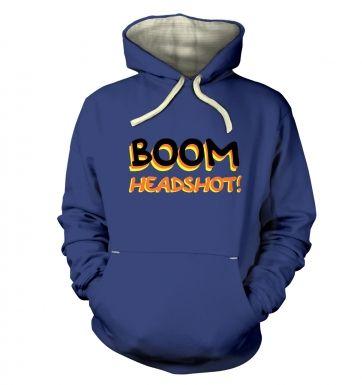 Boom Headshot  hoodie (premium)