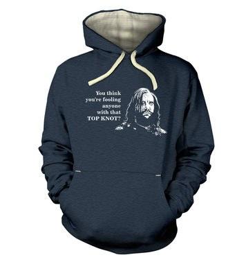 Boycott The Top Knot premium hoodie