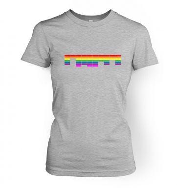 Retro Arcade Style (multicolour)  womens t-shirt