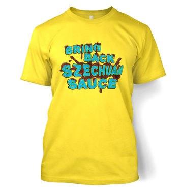 Bring Back Szechuan Sauce t-shirt
