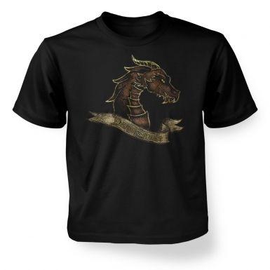Bronze Dragonslayer  kids t-shirt