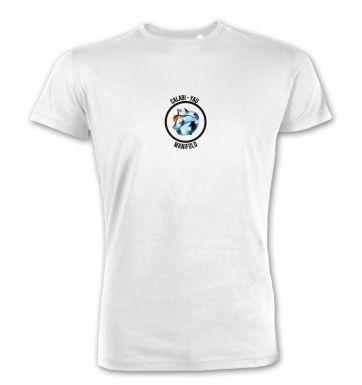 Calabi-Yau Manifold (badge)  premium t-shirt