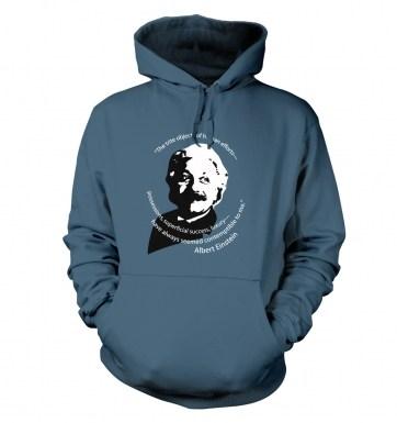 Capitalism Quote Einstein hoodie