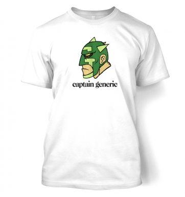 Captain Generic  t-shirt