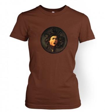 Caravaggio Medusa women's t-shirt