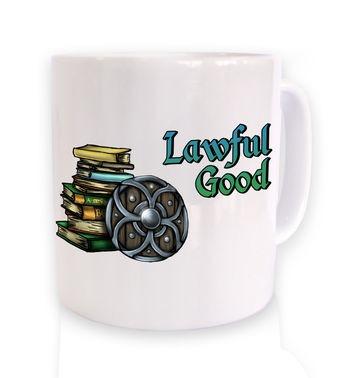 Cartoon Alignment Lawful Good mug