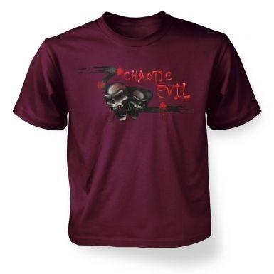 Chaotic Evil  kids t-shirt