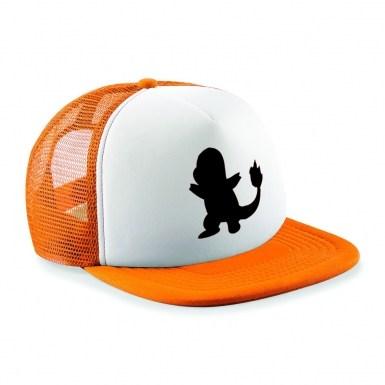 Charmander Silhouette baseball cap