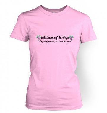 Chateauneuf Du Pape women's t-shirt