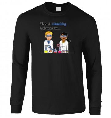 Chemistry Between Us long-sleeved tshirt