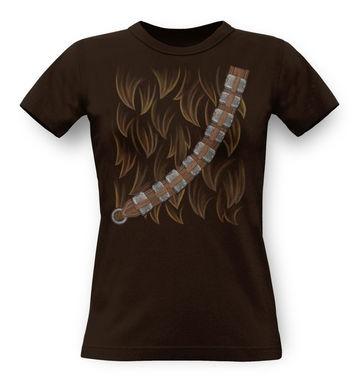 Chewie Costume classic womens t-shirt
