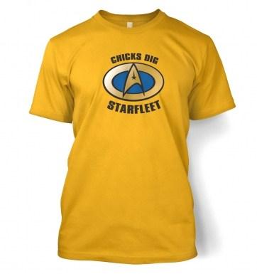 Chicks Dig Starfleet t-shirt