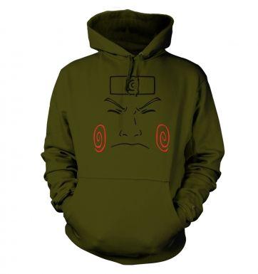 Choji Face   hoodie