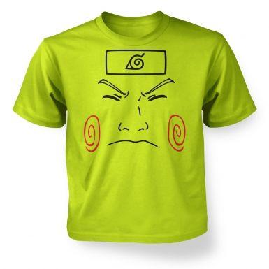 Choji Face   kids t-shirt