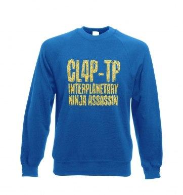 Clap Trap sweatshirt