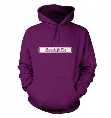 Cosmic Latte Outline hoodie