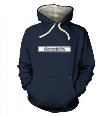 Cosmic Latte Outline hoodie (premium)