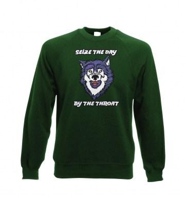 Courage Wolf sweatshirt