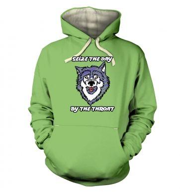 Courage Wolf  hoodie (premium)