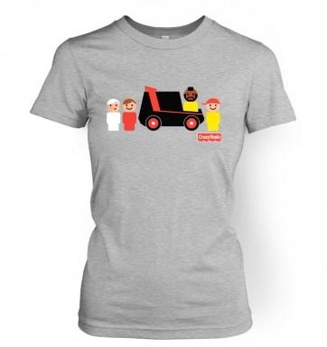 Crazy Fools women's t-shirt