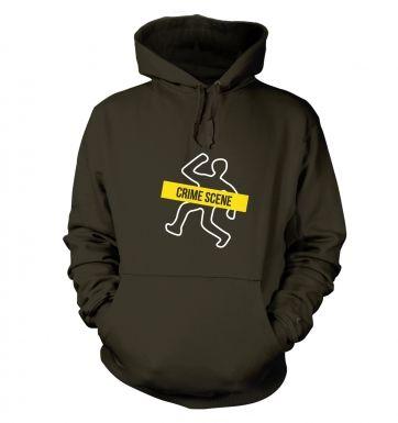 Crime Scene hoodie