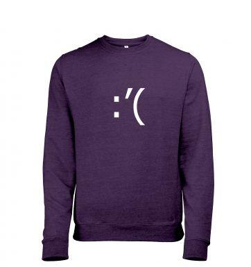 Crying Emoticon  t-shirt