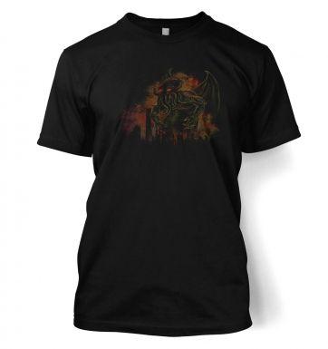 Cthulhu Cityscape t-shirt