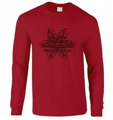 Cthulhu Strange Aeons Valentine Poem long-sleeved tshirt