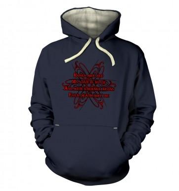 Cthulhu Strange Aeons Valentine Poem hoodie (premium)