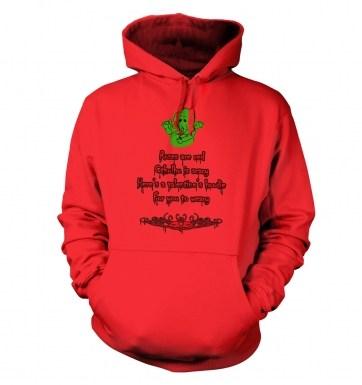 Cthulhu Valentine hoodie