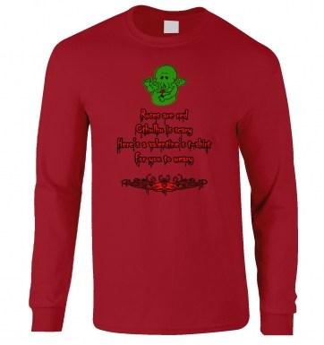Cthulhu Valentine long-sleeved tshirt