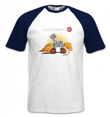 Curiosit-e short-sleeved baseball t-shirt