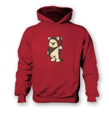 Cute Ewok  kids hoodie