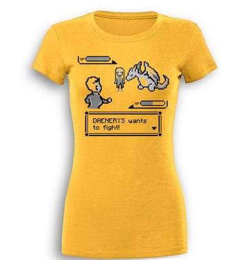 Daenerys Wants To Fight premium womens t-shirt