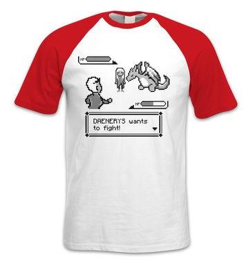 Daenerys Wants To Fight short-sleeved baseball t-shirt