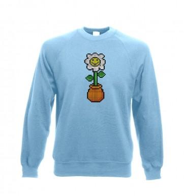 8-Bit Daisy sweatshirt