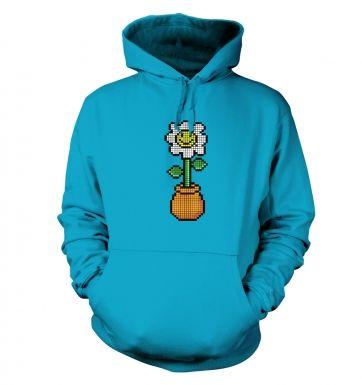 Daisy in a Pot 8 Bit  hoodie