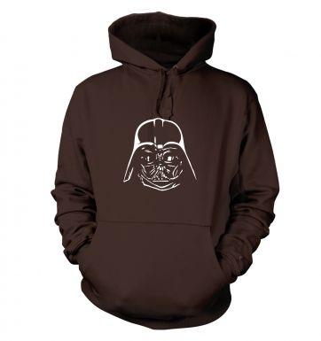 Dark Lord Helmet hoodie