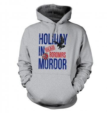 Dead Boromirs Holiday In Mordor hoodie
