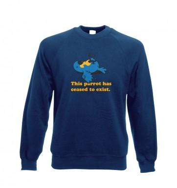 Dead Parrot sweatshirt