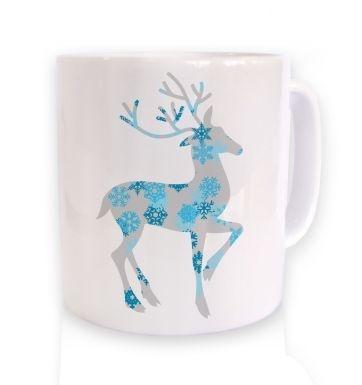 Deer Christmas mug